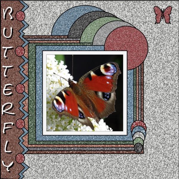 Jan.2016 – Glitter Butterfly