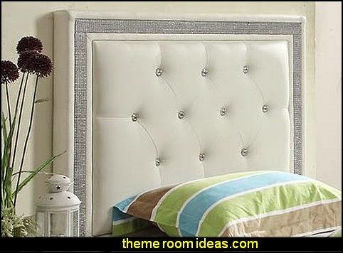 rhinestone headboards - rhinestone phone case - rhinestone shoes - bling  headboards - rhinestone bags - - Decorating Theme Bedrooms - Maries Manor: Rhinestone Headboards