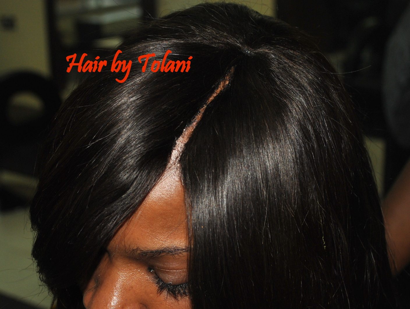 Hair By Tolan Invisible Parting Sewin And Glue Lagos Things