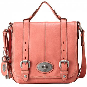 photo fossil maddox rose organiser bag