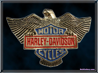 Harley Davidson Eagle Patches