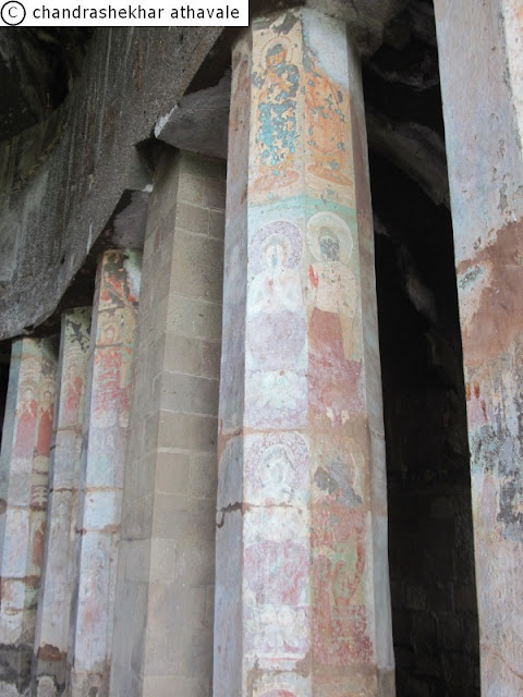 Painting On Wall Pillars