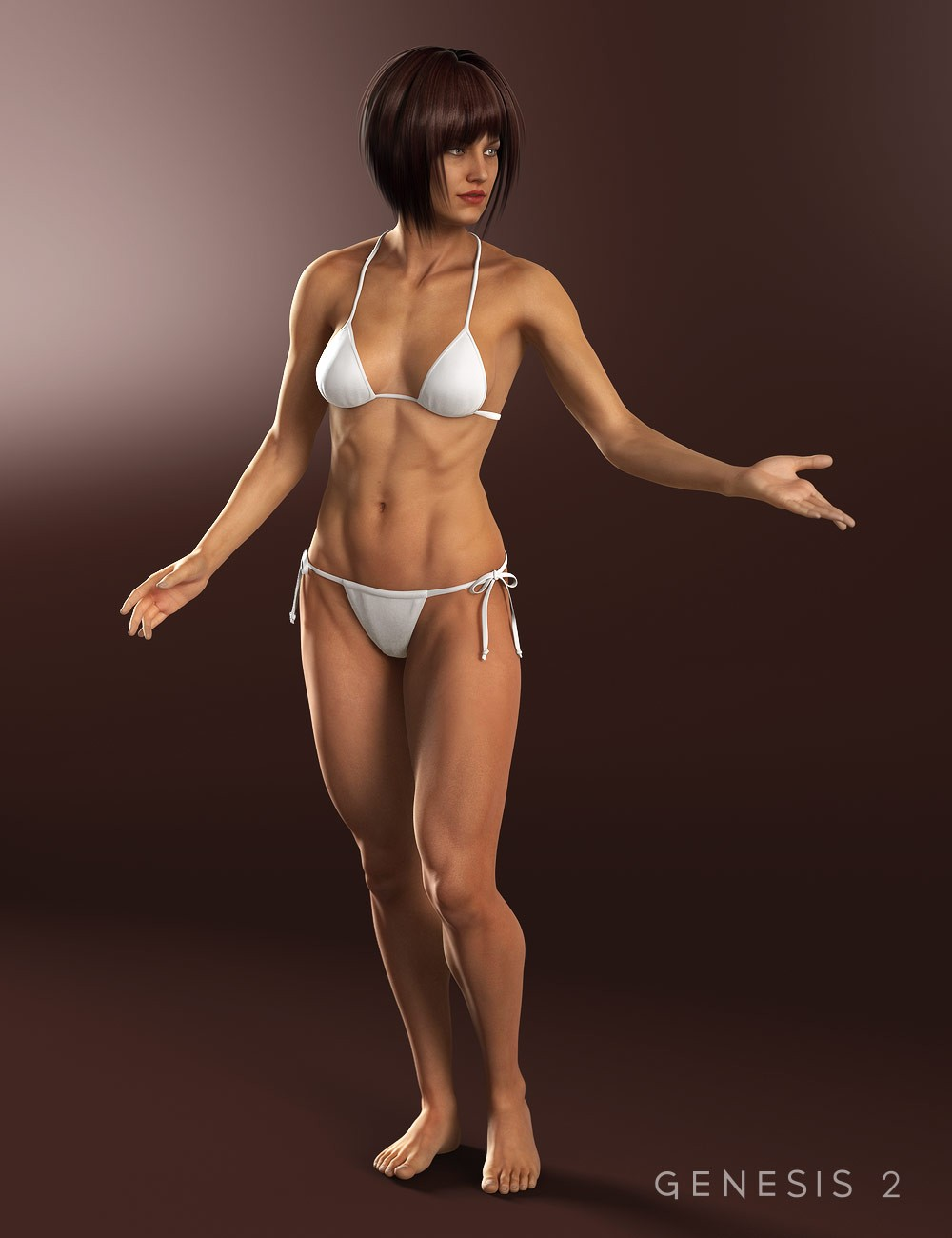 3d Models - Gia 6 for Daz Studio