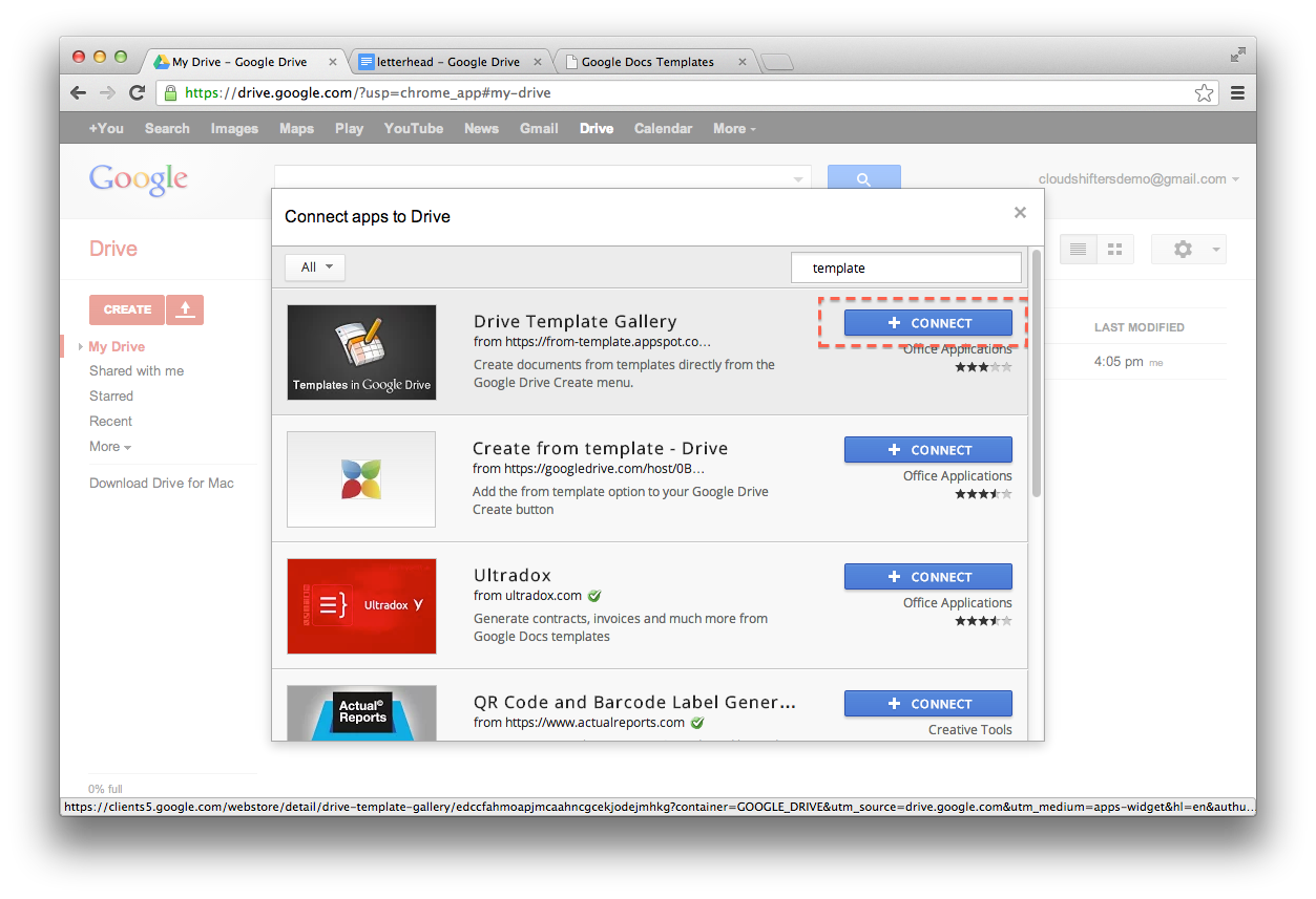Drive Template Gallery Chrome Web Store Google Mandegarfo
