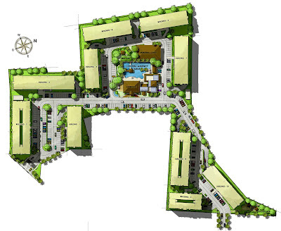 One Oasis Cebu Site Development Plan, Condominium for sale in Cebu, Filinvest