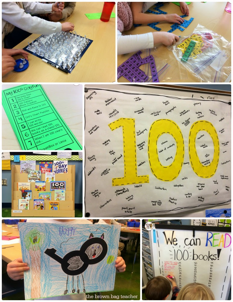 100th Day in 1st Grade - The Brown Bag Teacher
