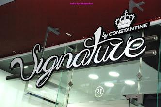 Signature by Constantine