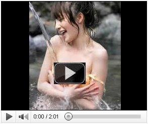 Mirip Payudara Montok Nikita Willy Saat Mandi di Sungai