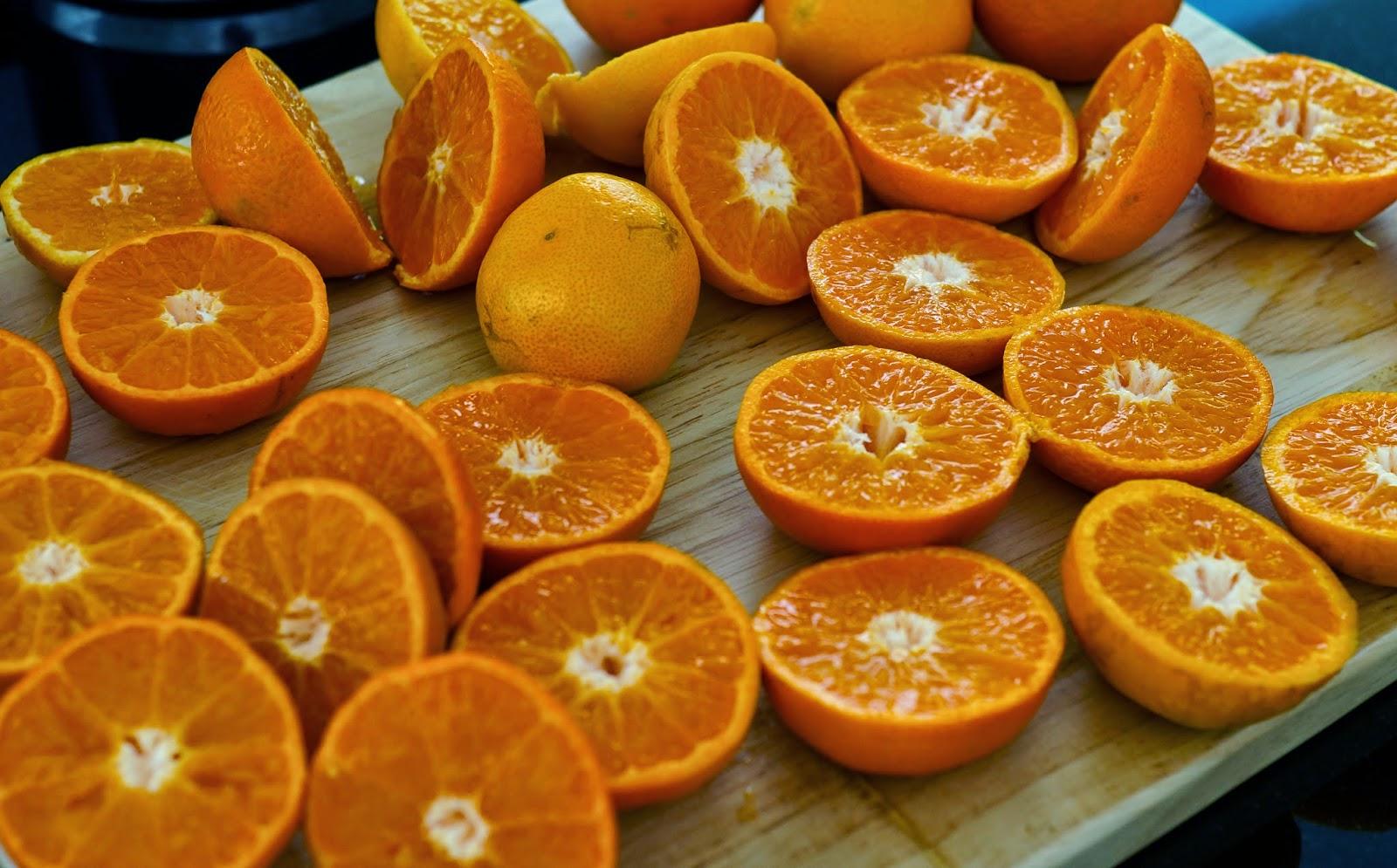 freshly squeezed orange