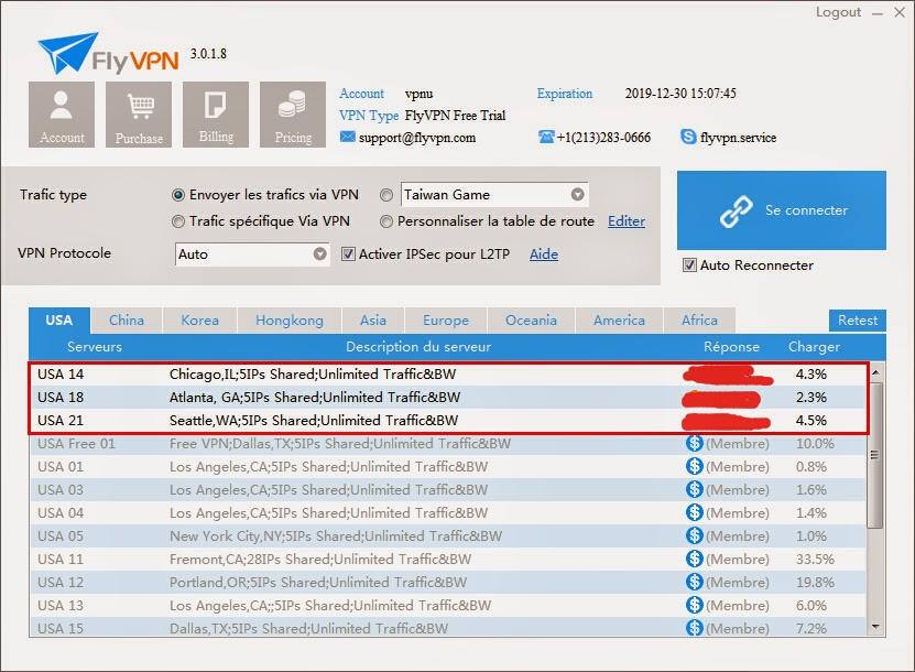 VPN américain