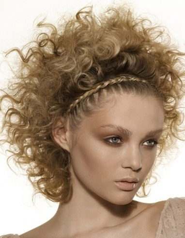 Curly Braided Hair Style 2014