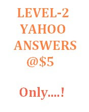 ABOUT YAHOO ANSWERS LEVEL - 2
