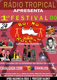 PRIMEIRO FESTIVAL DO BOI NO ROLETE