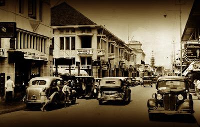 Foto Jalan Braga Bandung Tempo Doeloe