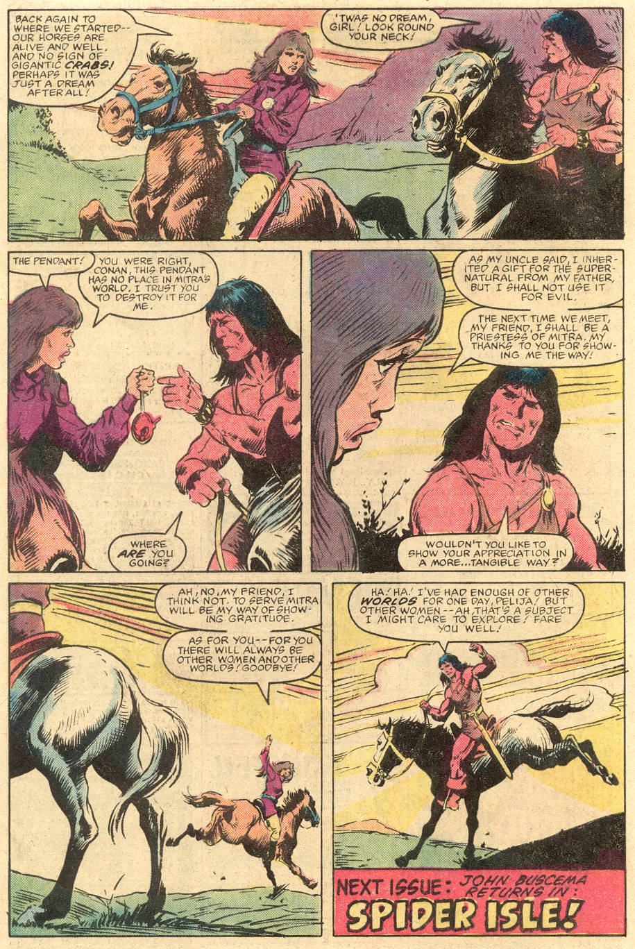 Conan the Barbarian (1970) Issue #139 #151 - English 23