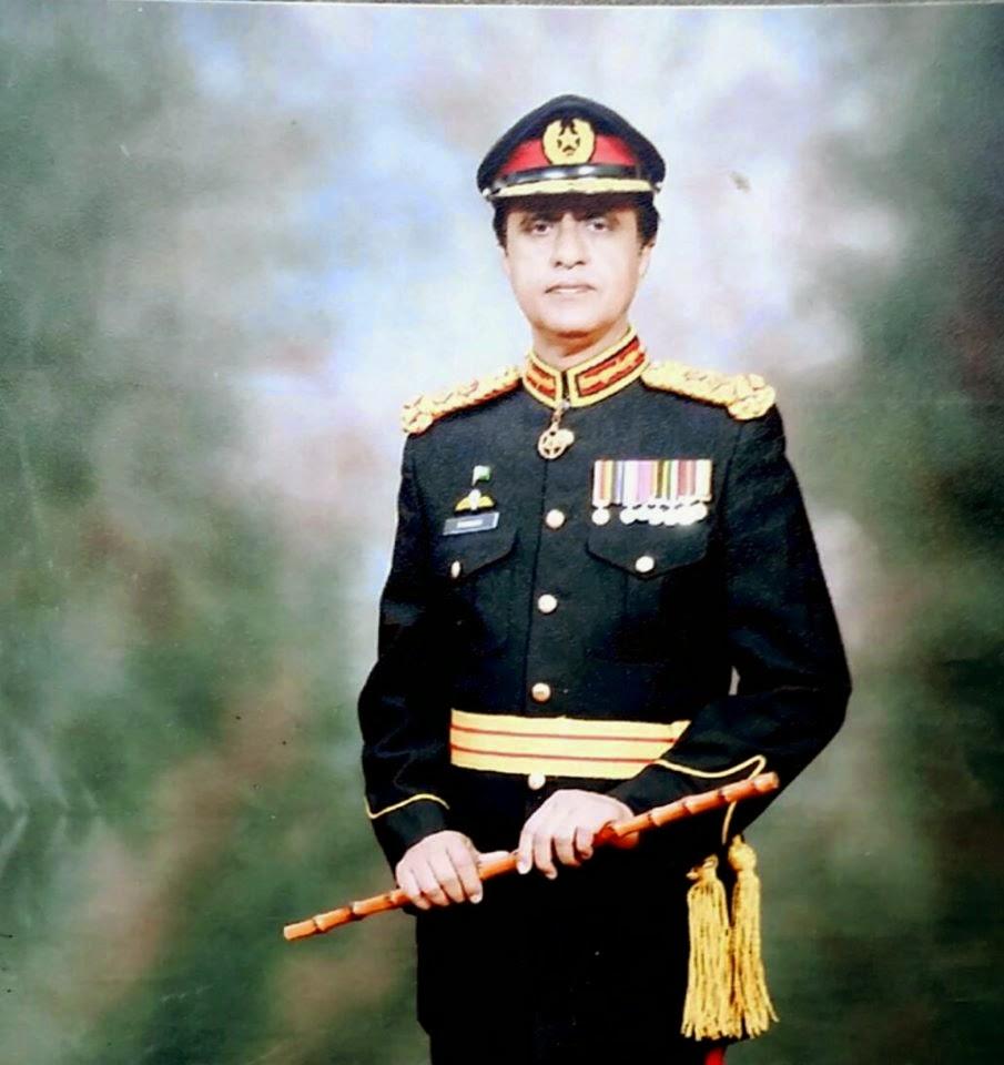 Brig.Raja Farrukh Jamal