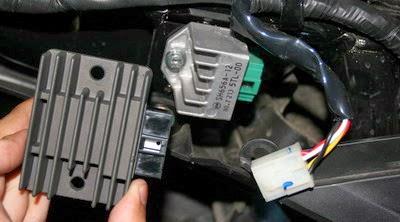 Lampu Motor Mati Pada Putaran Tinggi? Cek Komponen ini
