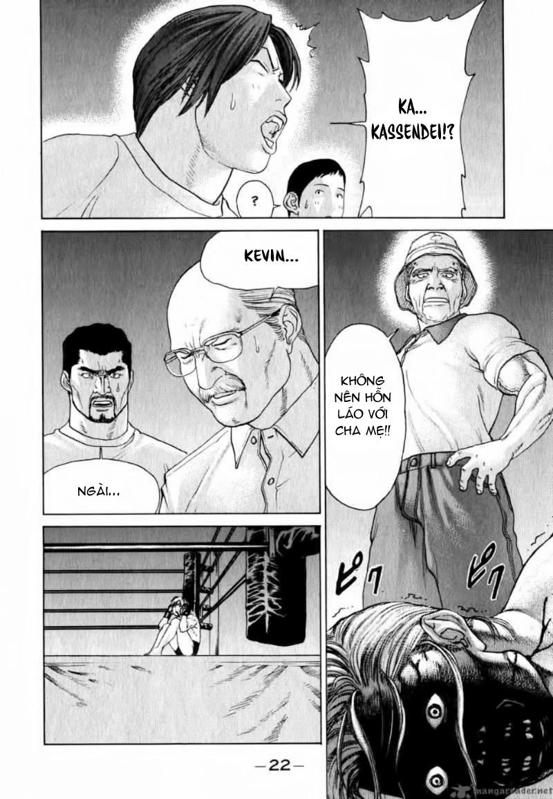 Karate Shoukoushi Kohinata Minoru chap 65 Trang 22