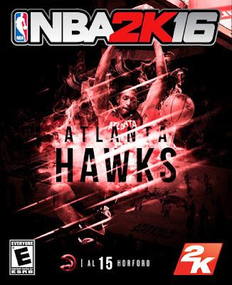 NBA 2K16 Custom Covers - Atlanta Hawks