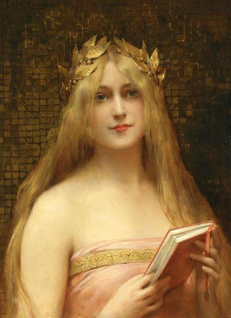 woman reading,Leon Francois Comerre, comerre