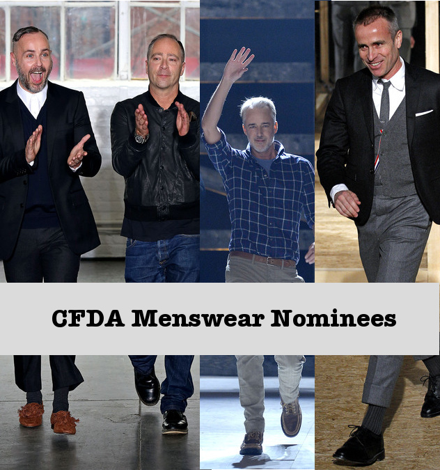 CFDA 2013 Nominees- Duckie Brown, Michael Bastian, Thom Browne