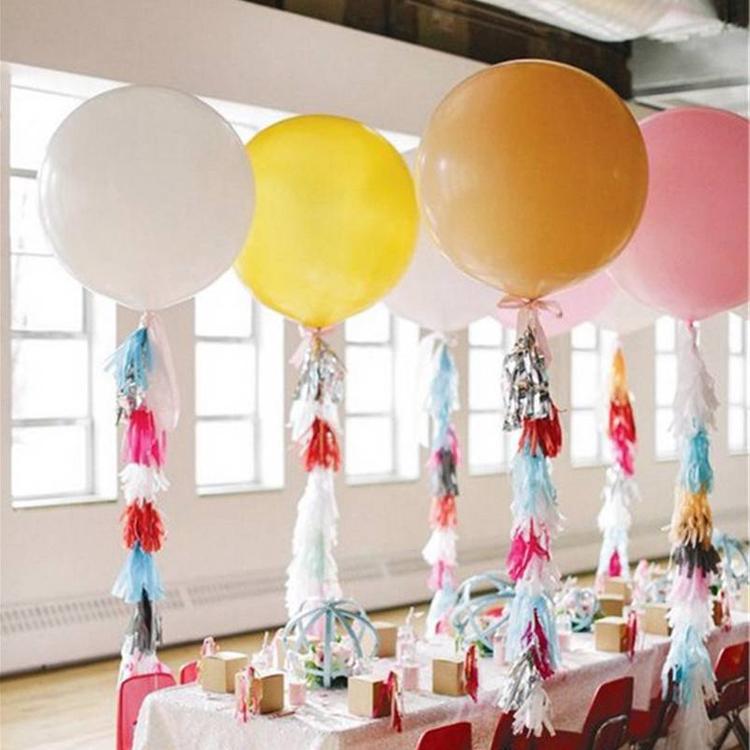 globos grandes para boda