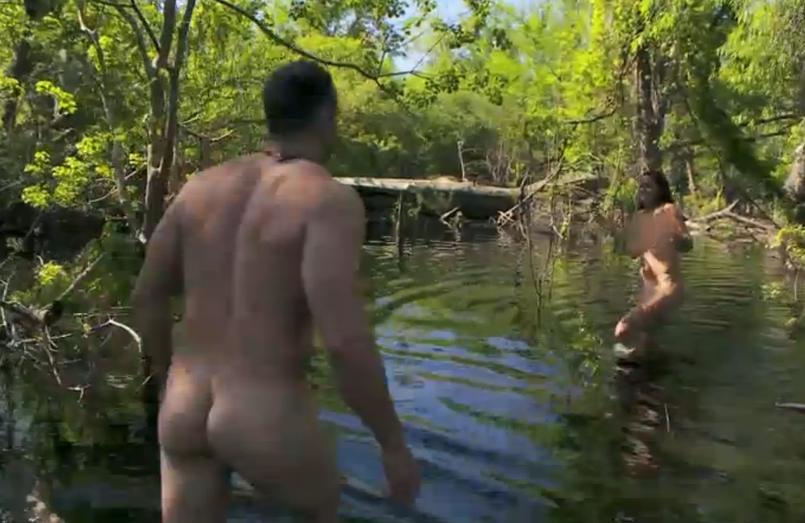 Hairy naked and afraid nude