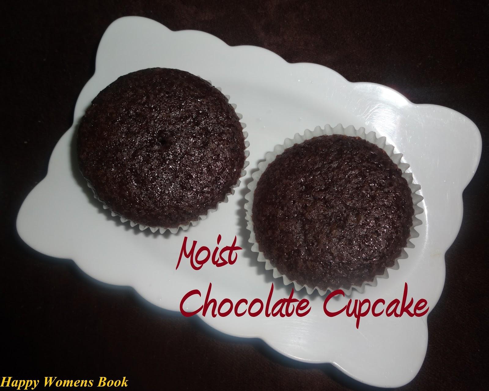 Selva's Kitchen : Moist Chocolate Cupcakes