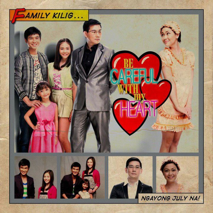 Be Careful with My Heart Premieres July 9 before It's Showtime