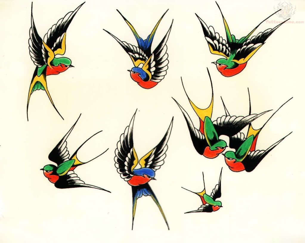 My Leq Swallow Bird Tattoo Symbolism