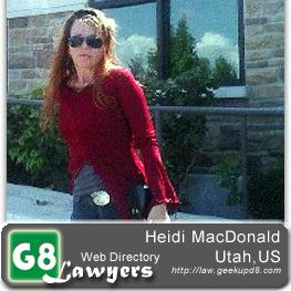 Heidi MacDonald, Salt lake city, utah