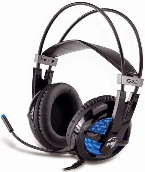 Genius GX Gaming Junceus Virtual 7.1 Gaming Headset