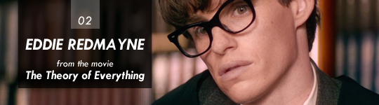 Eddie Redmayne (The Theory of Everything)