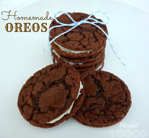 Homemade Oreos @ Blissful Roots