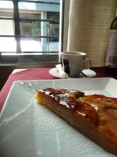 Torta de manzana de La Bottega