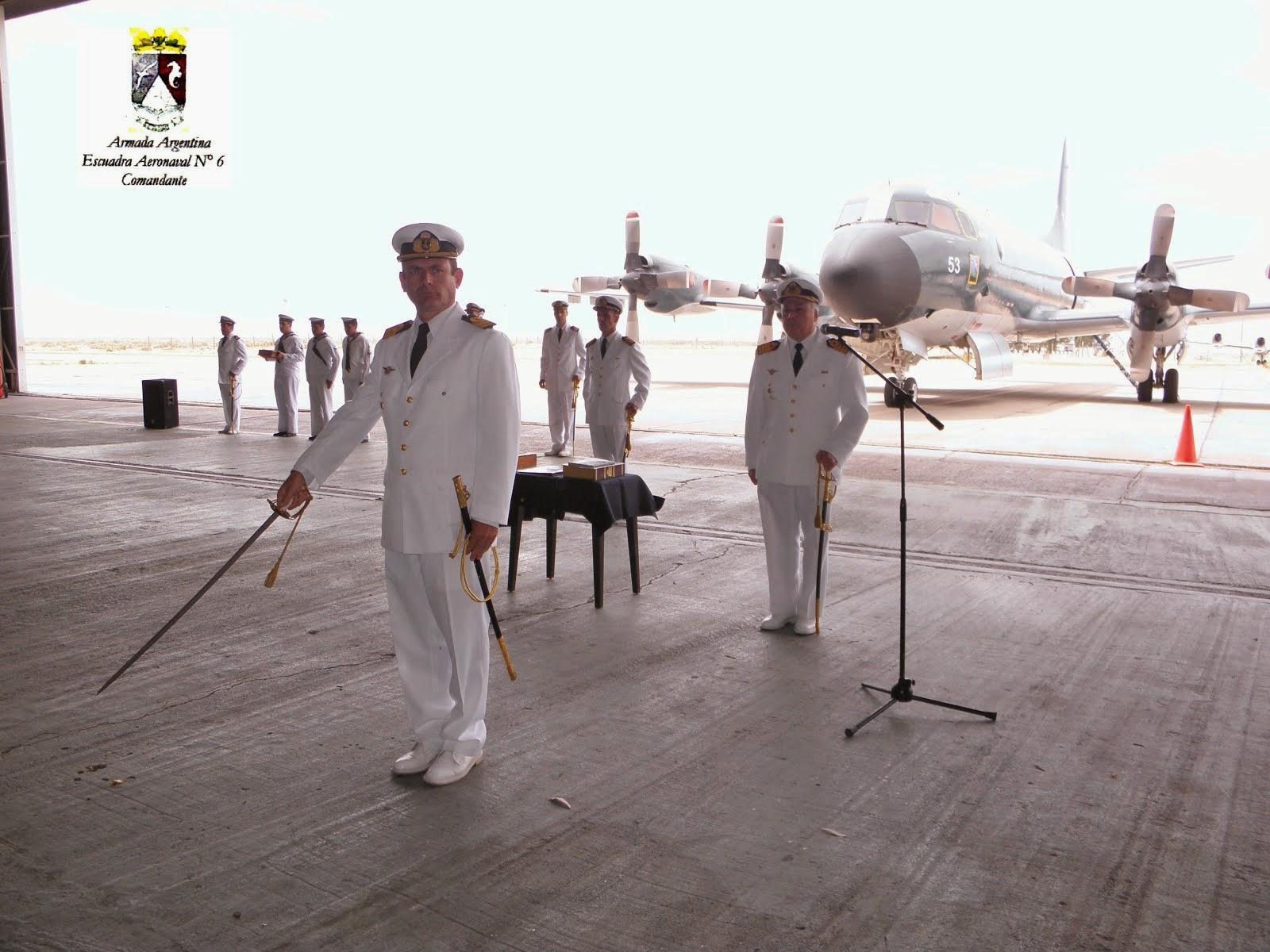 Nuevo Comandante de la Escuadra Aeronaval N° 6
