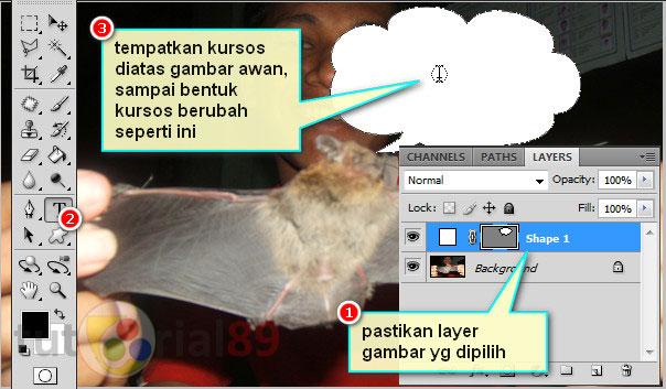 Cara membuat tulisan efek komik dengan photoshop
