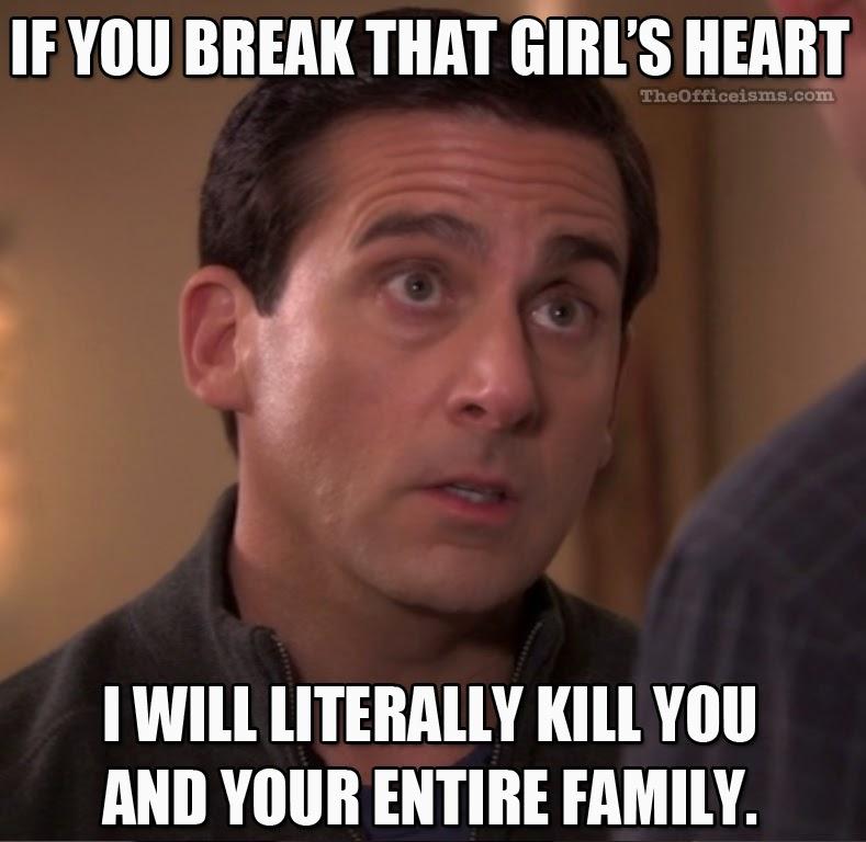 break%2Bthat%2Bgirls%2Bheart the office isms michael scott memes