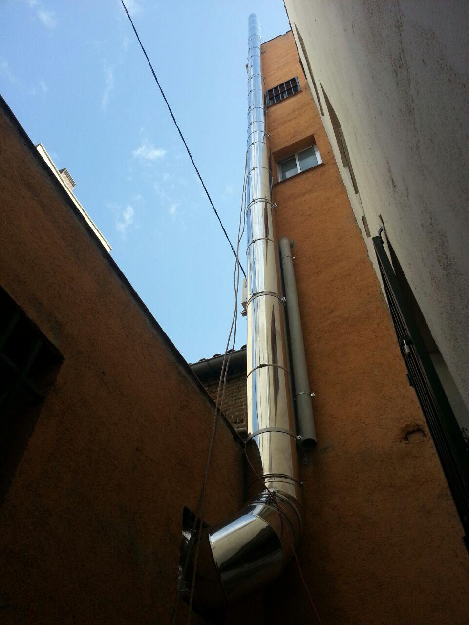 Tubos de chimenea instalar tubos y conductos chimeneas - Chimeneas de acero ...