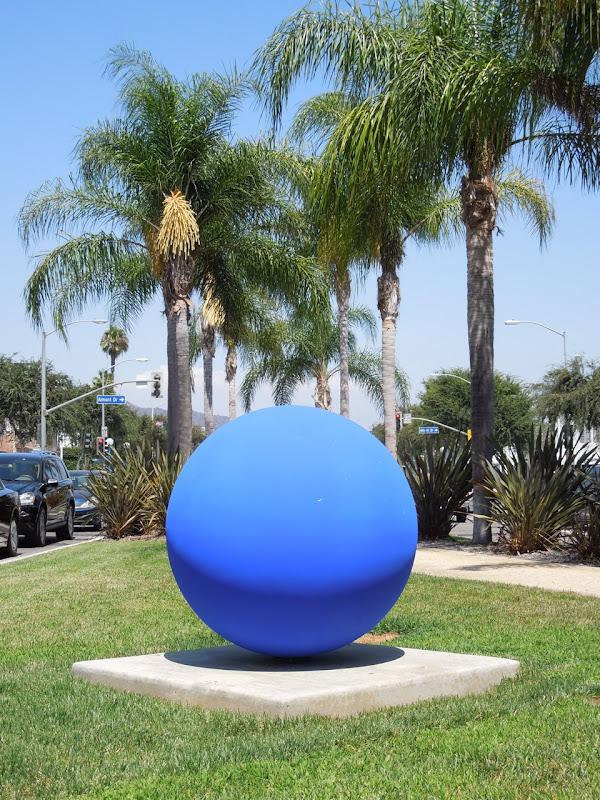 Achenar blue sphere Lila Albuquerque
