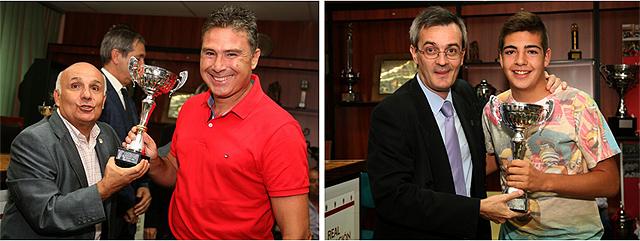 Entrenadores del Ancora y Sitio de Aranjuez fútbol
