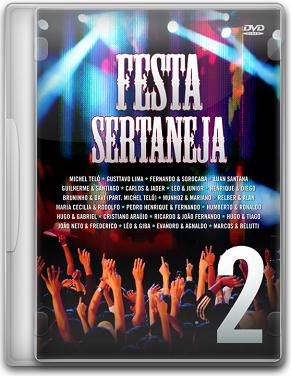 Capa Festa Sertaneja 2   DVDRip (2011)