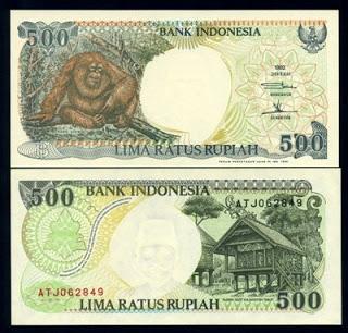 uang kerta Rp.500,00