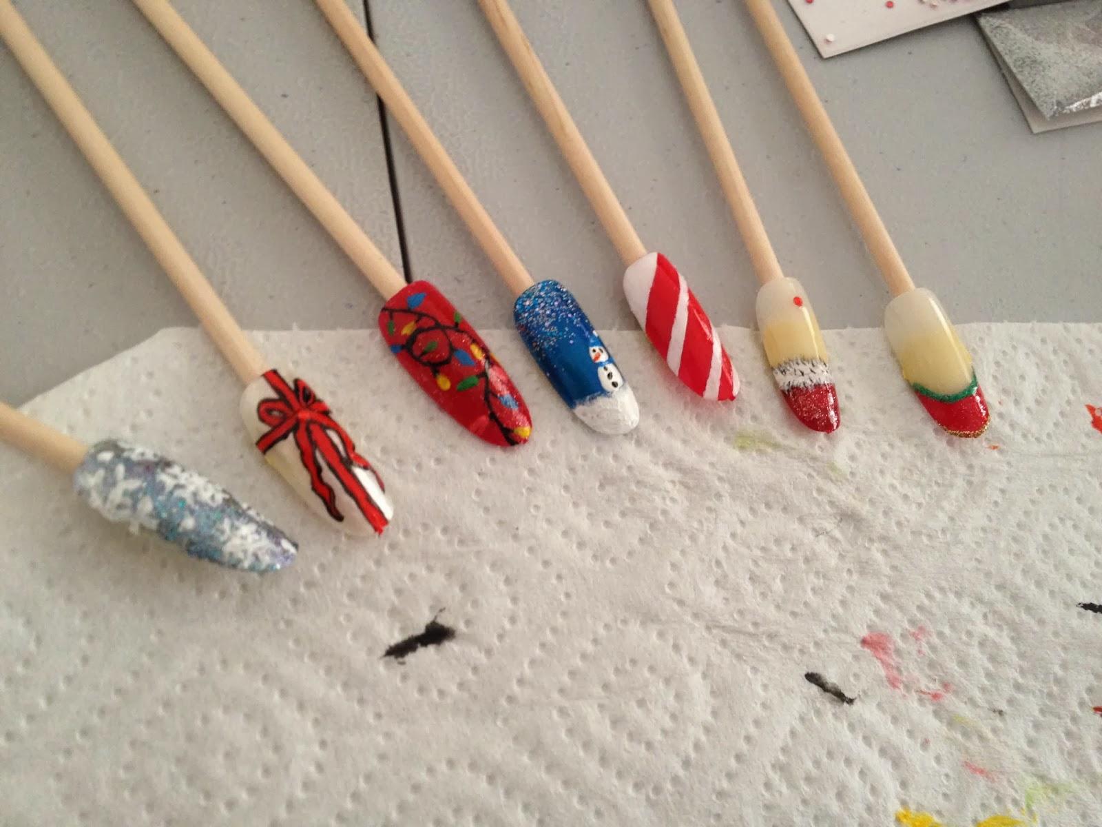 Ateliers nail art Décembre et Janvier13