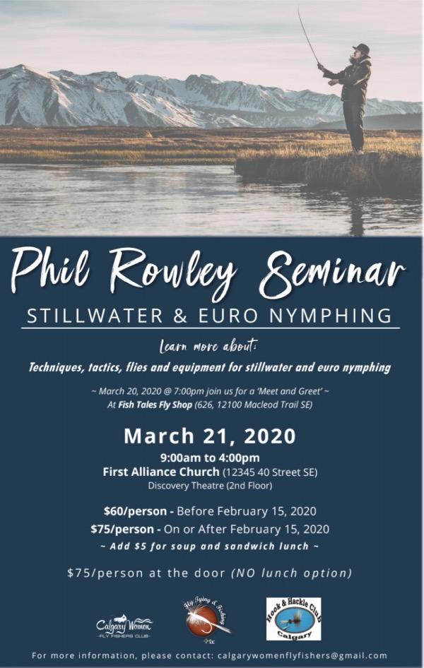 Phil Rowley Workshop in Calgary