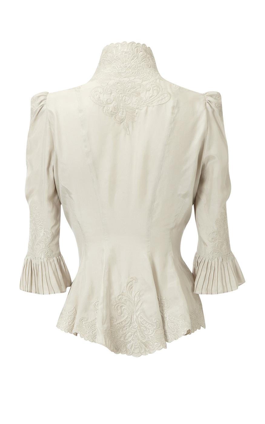 Karen Millen Lace Print Blouse 7