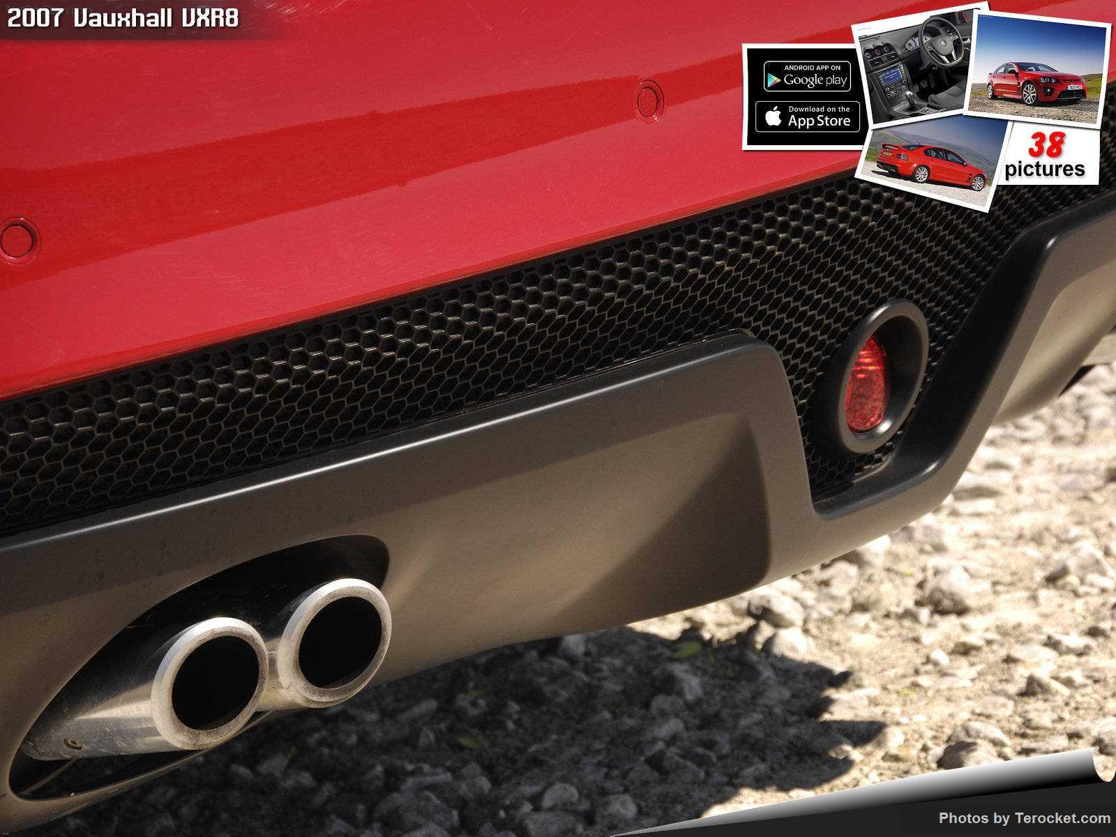 Hình ảnh xe ô tô Vauxhall VXR8 2007 & nội ngoại thất