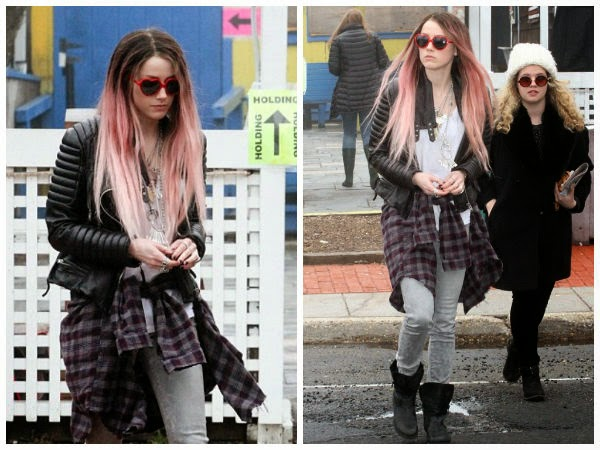 Amber-Heard-Sports-Pink-Hair-Wig-and-NY-Street-Style-for-her-New-Movie-Role