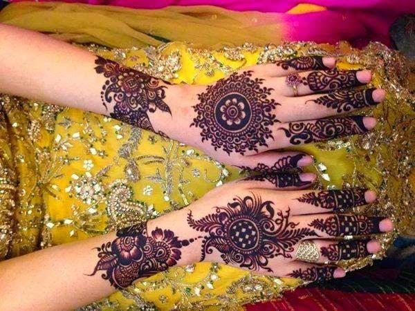 Mehendi Ceremony S Free Download : Bridal mehndi designs beautiful pakistani henna design