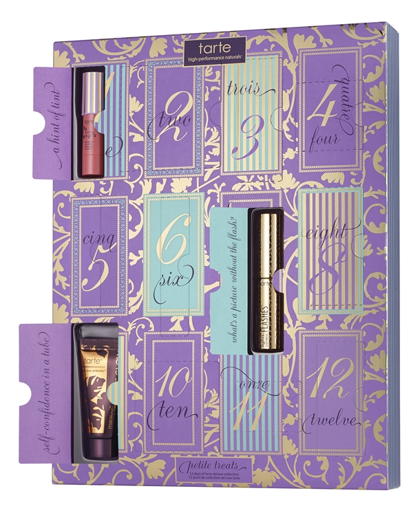 tarte beauty advent calendar 12 days of petite treats